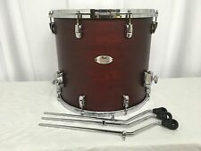 "Pearl Reference 18"" Diameter X 16"" Deep Floor Tom/SATIN AUBURN/# 345/RARE!"
