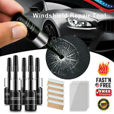 5 Pack Automotive Glass Nano Repair Fluid Car Windshield Resin Crack Tool Kit US