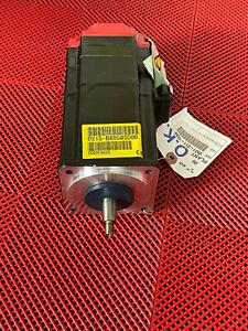Fanuc A06B-0215-B605#S000 AC Servo Motor, αis 4/5000, Taper Shaft, Brake