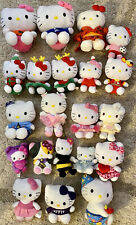 Hello Kitty Plush Small Medium Large lot 21