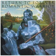 RETURN TO FOREVER ROMANTIC WARRIOR 1976 CD JAZZ-FUSION NEW