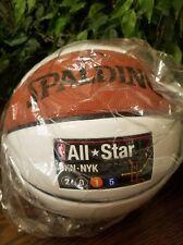 New Spalding Nba 2015 Nyc Bkn AllStar Game Autograph Basketball Thespot917