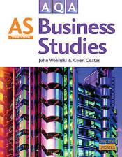 AQA AS Business Studies by Gwen Coates, John Wolinski (Paperback, 2008)