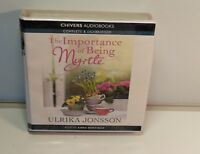 The Importance of Being Myrtle. Unabridged Audio CD. Ulrika Jonsson. Audio Book