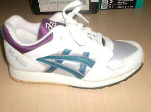 vintage shoes asics gel saga jr.  collectors only       2 usa       new  1980