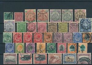 LN24876 Br South Africa classic stamps fine lot used