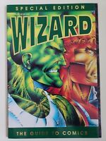 WIZARD SPECIAL EDITION Comics Magazine 1992 4 PANEL IMAGE COVER + GOLD LOGO