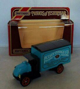 MATCHBOX Models of Yesteryear Y-30 1920 AC Mack Truck ACORN STORAGE ISSUE 1