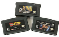 Star Wars Video Game Lot Gba Gameboy Advanced  3 Games