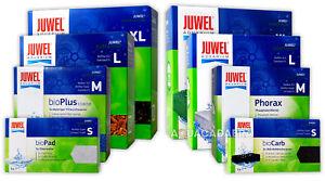 JUWEL AQUARIUM FISH TANK INTERNAL BOX FILTER MEDIA FULL RANGE SPONGE POLY CARBON