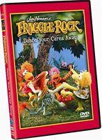 Fraggle Rock Dance Your Cares Away On DVD Very Good E19