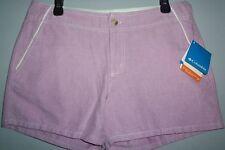 NWT Columbia PFG Omni Shade Women's sz 10 Pink Fishing/Summer/Boating shorts