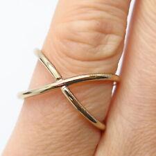 Vintage Adjustable Ring in Gold Tone