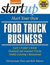 New ListingStartUp Ser.: Food Truck Business : Carts, Trailers, Kiosks, Standard and.