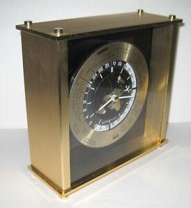 Seiko Quartz Clock World International Time Clock
