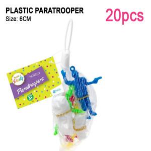 20pcs Plastic Paratrooper Parachute Army Men Kids Party Loots Favour Gift Toys