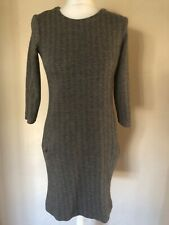 The White Company Black And Grey Dress Size 8
