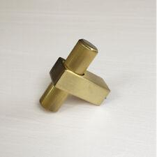 Brass Cabinet Knobs - Mid-Century Knobs - Brass Cabinet Pulls