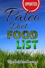 Updated Paleo Diet Food List Book by Rachel Hathaway (2014, Paperback)
