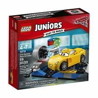 🎄 Lego Juniors Disney Pixar Cars Cruz Ramirez Race Simulator 10731 Brand New