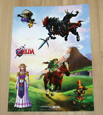 2011 Nintendo 3DS The Legend of Zelda Ocarina of Time 3D Sticker Afkleber Set