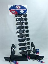 AFL Official Licensed Product Unisex Wrap Sunglasses Melbourne Demons
