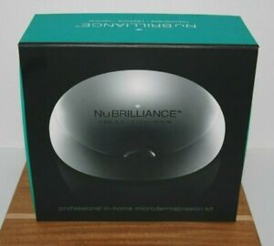 Nu Brilliance Professional In-Home Microdermabrasion Dual Action System NEW