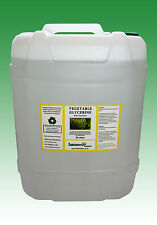 VEGETABLE GLYCERINE EP/USP FOOD/COSMETIC GRADE - 20 LITRES (25 KG)
