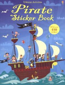 Pirate Sticker Book (Usborne Sticker Books) By Fiona Watt,Paul Nicholls
