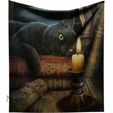 Lisa Parker Witching Hour Cat Throw