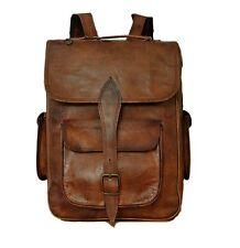 Handmade Men's Leather Backpack