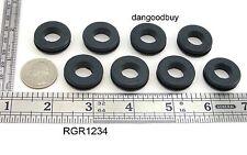 """24  Rubber Grommets   1/2"""" Inner Diameter -  Fits  3/4"""" panel hole"""