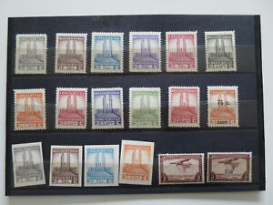 BELGIAN CONGO NEAT COLLECTION  /Dd787