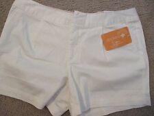 NWT - DOCKERS ladies White  shorts - sz 12P -  MSRP $44.00