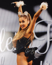 ARIANA GRANDE * GLOBAL AUTHENTICS CERTIFIED * POSTER SIZE  HAND SIGNED 16  X 20'