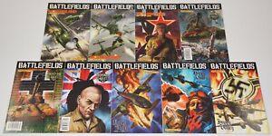 Battlefields #1-9 VF/NM complete series - garth ennis - dynamite comics war set