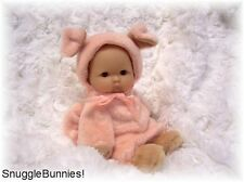 "LIL BABY PIGGY  COSTUME FITS 5-6"" BERENGUER REBORN OOAK BABY DOLL !"