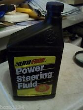 NOS UNIFIDE POWER STEERING FLUID 32 OZ #12632 KEEPS SYSTEM RUNNING SMOOTHLY