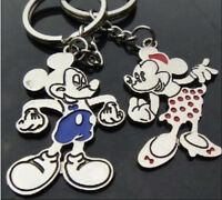 cartoon lovers keychain Buckle couple key chain ring Minnie & mickey mouse