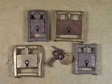 Antique Dog Collar Lock Collection Locking Buckle