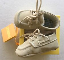NWT Gymboree Garden Party Size 3 03 Suede Crib Boat Shoes for 6-12 Months