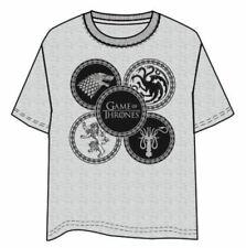 T-Shirt Game of Thrones Logos - Taglia S NUOVA SIGILLATA