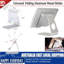 Universal Folding Aluminum Table Mount Holder Stand For iPad 2 3 4 Air Phone PC