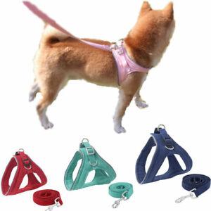 Pet Harness Reflective Vest-Style Dog Chest Strap Leash Rope Suit Puppy Dog Cat
