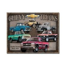 Chevy Truck Vintage Tin Sign Retro Man Cave Garage Bar Tavern High Quality