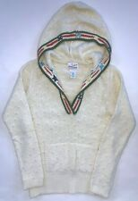 Womens Old Navy Hooded Sweater sz S Winter Edition Top Angora Small Shirt