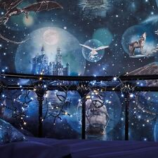 MAGICAL KINGDOM BLUE WALLPAPER - ARTHOUSE 696100 NEW FANTASY
