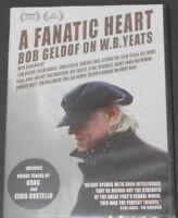 A FANATIC HEART bob geldof on w.b. yeats DVD elvis costello BONO van morrison