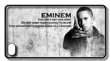 EMINEM 'QUOTE' HARD BACK CASE COVER FOR IPHONE 4/4S, 5/5S, 5C, 6/6 PLUS & 7.
