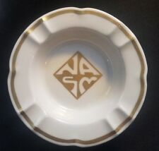 Vintage Petrus Regout Maastricht Holland Porselein Porcelain Gold Ashtray